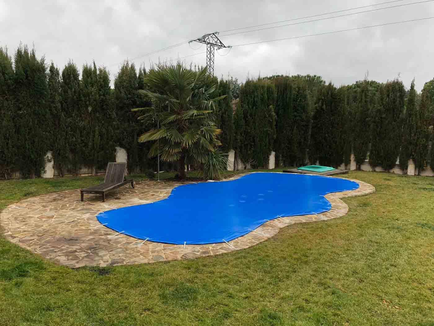 cobertor piscina irregular