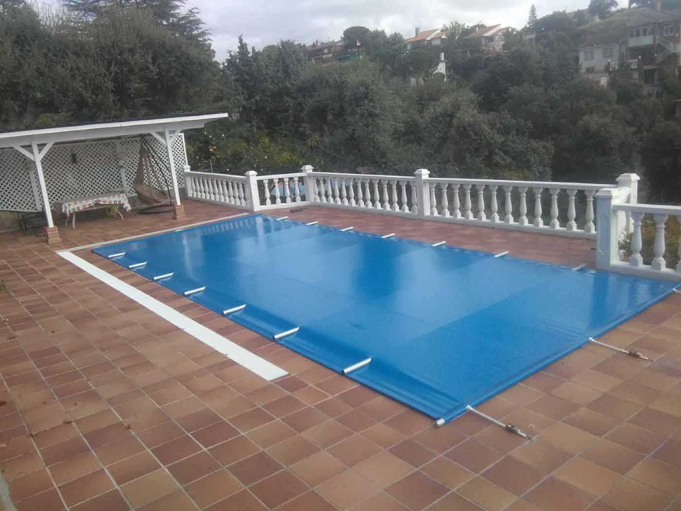 cobertor piscina barra
