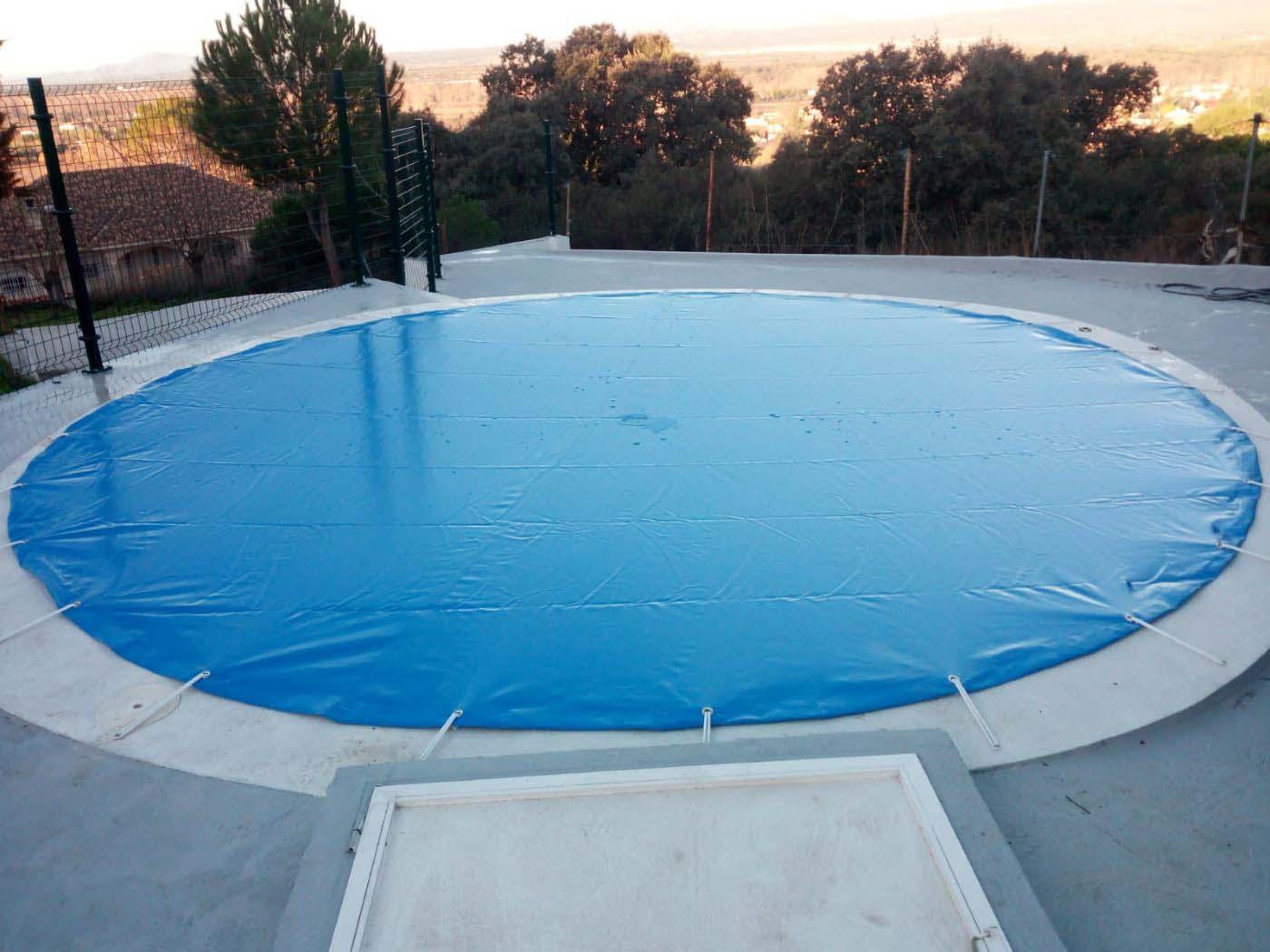 cobertores piscinas redondos