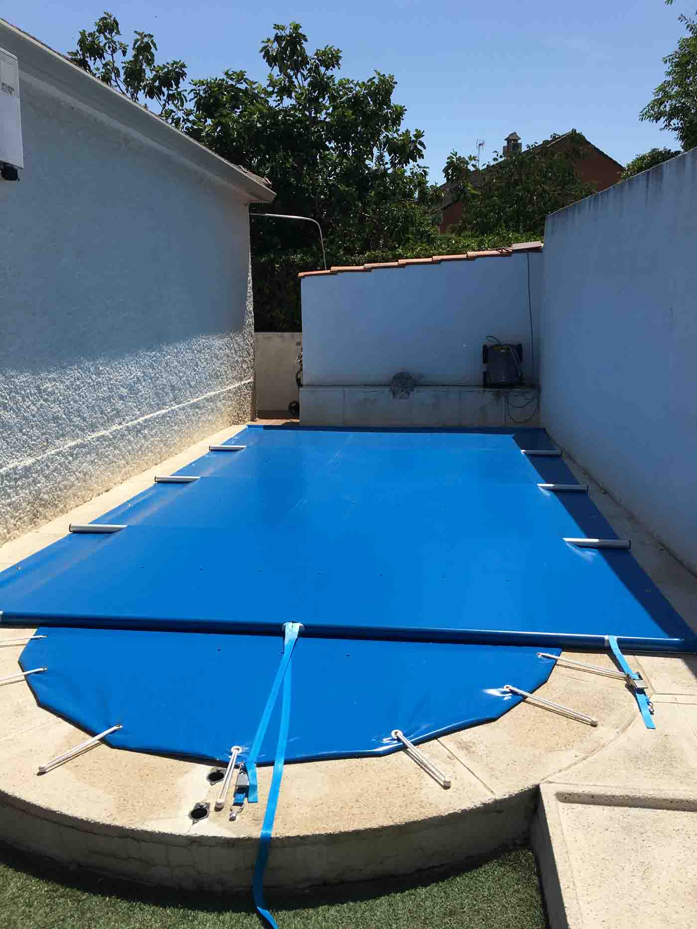 cobertores piscinas solares