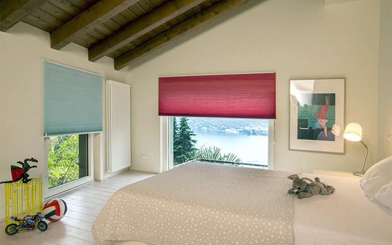 cortinas plisadas opacas