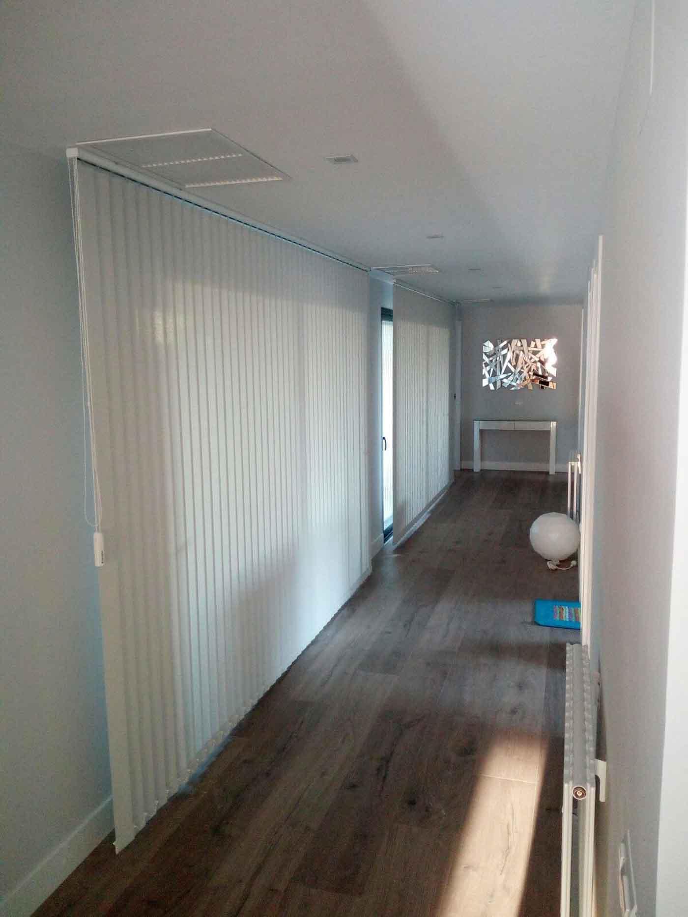 cortinas verticales impresas