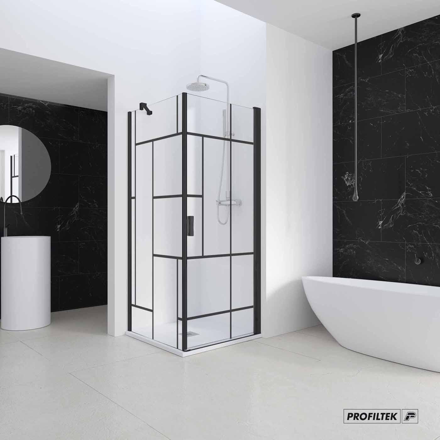 mampara ducha baño