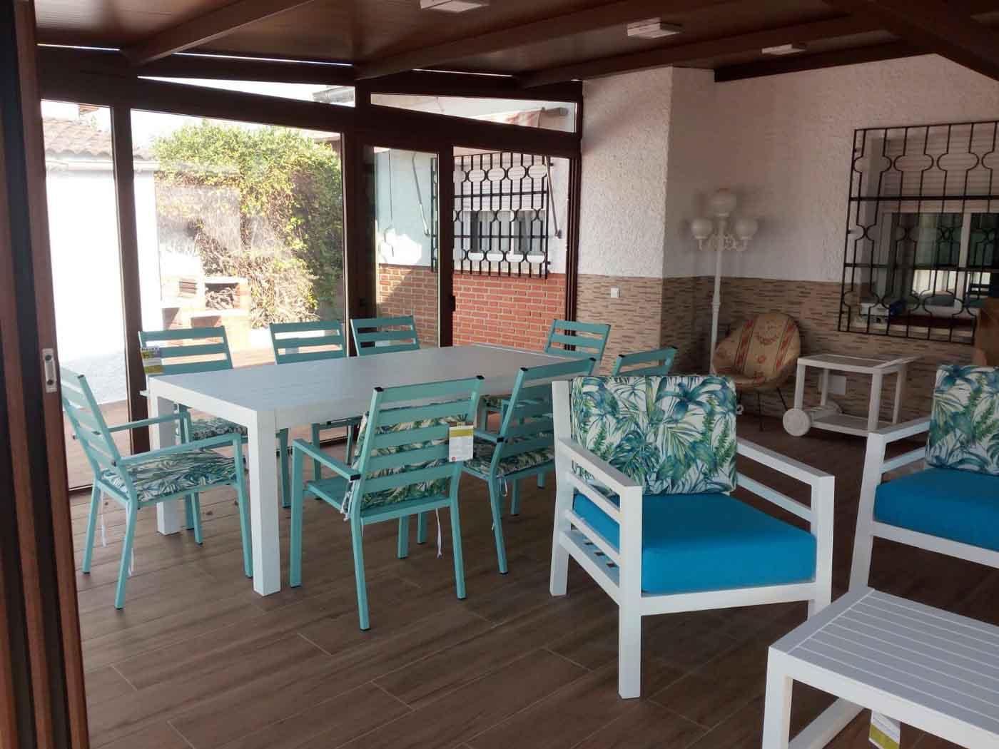 sillas mobiliario jardin