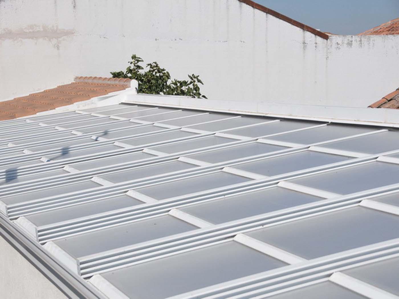 techo policarbonato movil