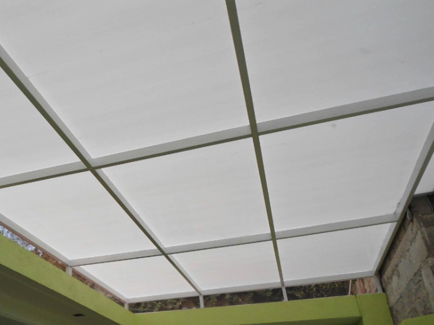 techo policarbonato fijo