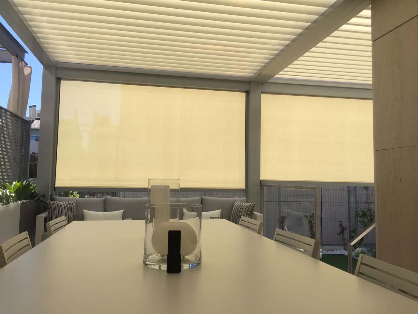 techos bioclimaticos