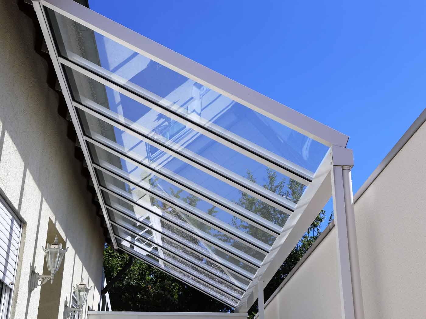 techos cristal fijos