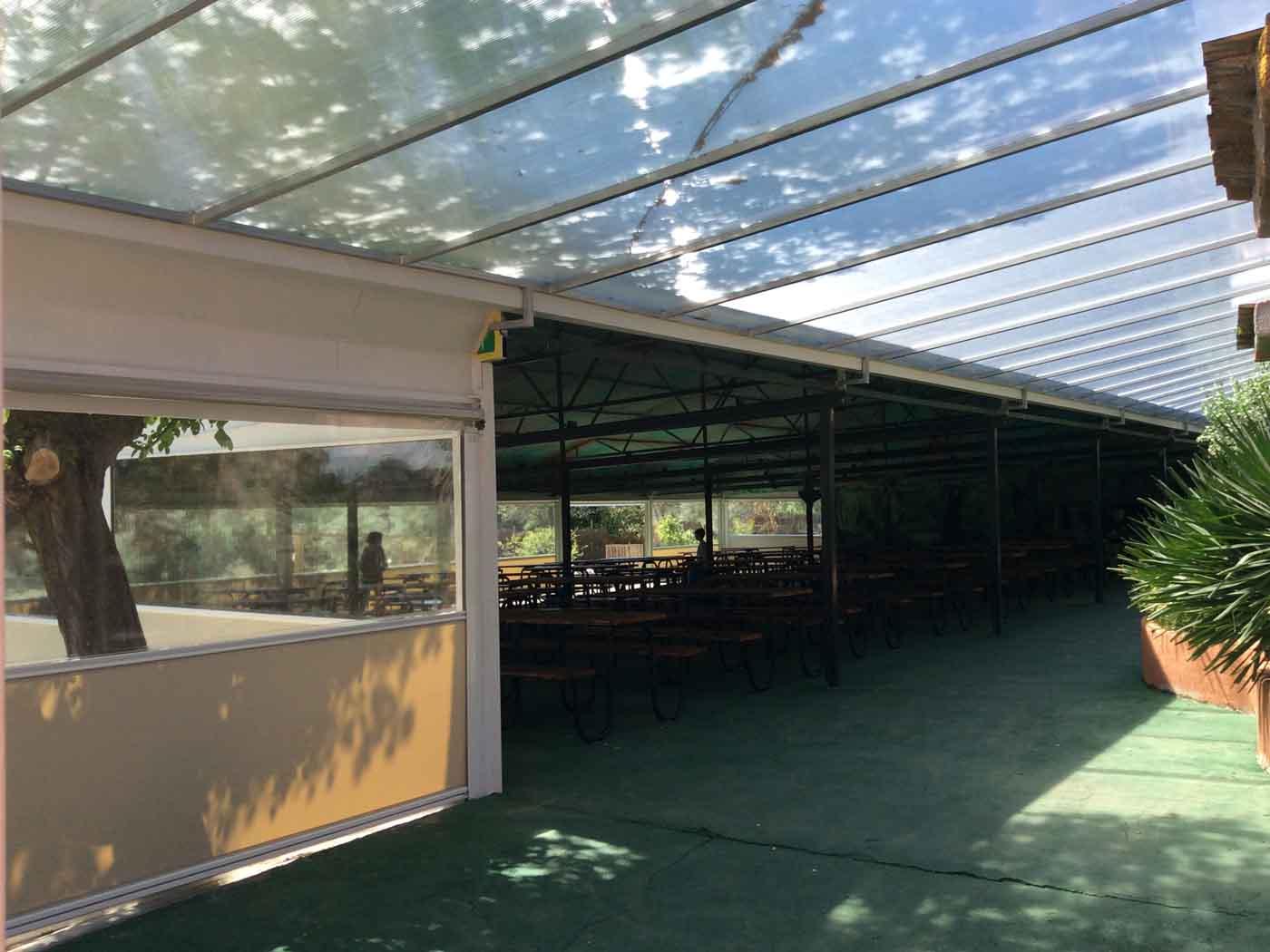 techos policarbonato fijo