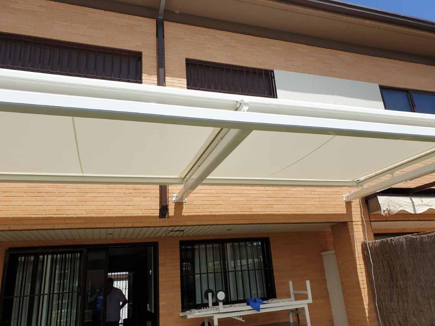 toldos veranda estructuras
