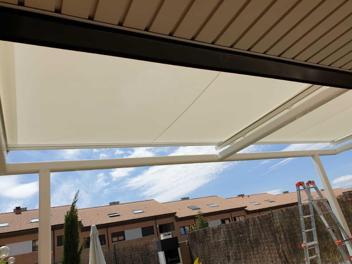 toldos veranda estructura